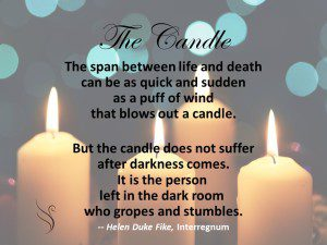 Grief Quote-The Candle
